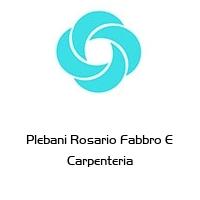 Plebani Rosario Fabbro E Carpenteria