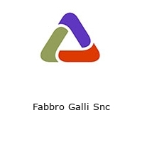 Fabbro Galli Snc