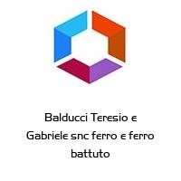 Balducci Teresio e Gabriele snc ferro e ferro battuto