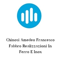 Chinosi Amedeo Francesco Fabbro Realizzazioni In Ferro E Inox