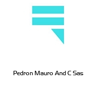 Pedron Mauro And C Sas