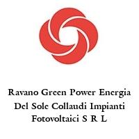 Ravano Green Power Energia Del Sole Collaudi Impianti Fotovoltaici S R L