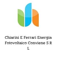 Chiarini E Ferrari Energia Fotovoltaico Conviene S R L