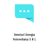 Omnisol Energia Fotovoltaica S R L