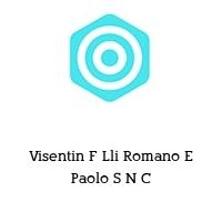 Visentin F Lli Romano E Paolo S N C