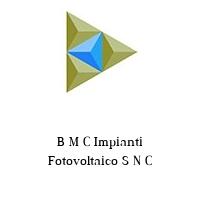 B M C Impianti Fotovoltaico S N C