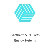 Geotherm S R L Earth Energy Systems