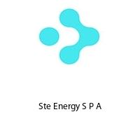 Ste Energy S P A