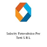 Solarity Fotovoltaico Per Tetti S R L