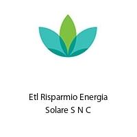 Etl Risparmio Energia Solare S N C