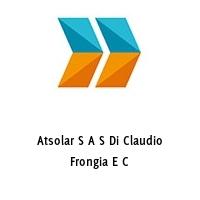 Atsolar S A S Di Claudio Frongia E C