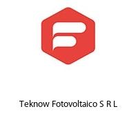 Teknow Fotovoltaico S R L