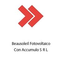 Beausoleil Fotovoltaico Con Accumulo S R L