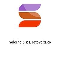 Solecho S R L Fotovoltaico