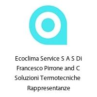 Ecoclima Service S A S Di Francesco Pirrone and C Soluzioni Termotecniche  Rappresentanze
