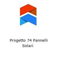 Progetto 74 Pannelli Solari