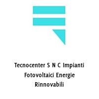 Tecnocenter S N C Impianti Fotovoltaici Energie Rinnovabili