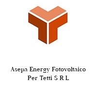 Asepa Energy Fotovoltaico Per Tetti S R L