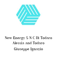 New Energy S N C Di Todaro Alessia and Todaro Giuseppe Ignazio