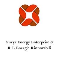 Surya Energy Enterprise S R L Energie Rinnovabili