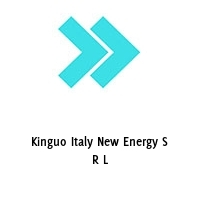 Kinguo Italy New Energy S R L