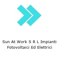 Sun At Work S R L Impianti Fotovoltaici Ed Elettrici
