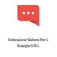 Estensione Sistemi Per L Energia S R L
