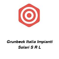 Grunbeck Italia Impianti Solari S R L