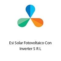 Esi Solar Fotovoltaico Con Inverter S R L
