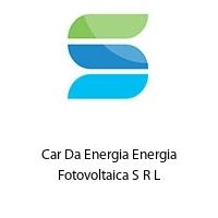 Car Da Energia Energia Fotovoltaica S R L