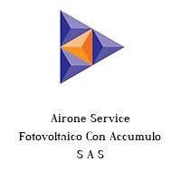 Airone Service Fotovoltaico Con Accumulo S A S