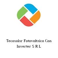 Tecosolar Fotovoltaico Con Inverter S R L
