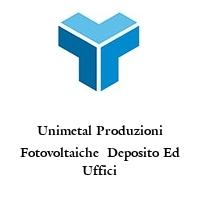 Unimetal Produzioni Fotovoltaiche  Deposito Ed Uffici