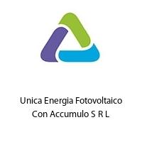 Unica Energia Fotovoltaico Con Accumulo S R L