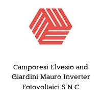 Camporesi Elvezio and Giardini Mauro Inverter Fotovoltaici S N C