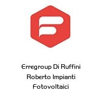Erregroup Di Ruffini Roberto Impianti Fotovoltaici