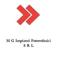 M G Impianti Fotovoltaici S R L