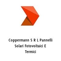 Coppermann S R L Pannelli Solari Fotovoltaici E Termici