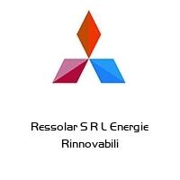 Ressolar S R L Energie Rinnovabili