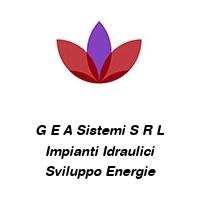 G E A Sistemi S R L Impianti Idraulici Sviluppo Energie