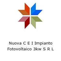 Nuova C E I Impianto Fotovoltaico 3kw S R L