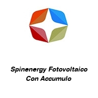 Spinenergy Fotovoltaico Con Accumulo