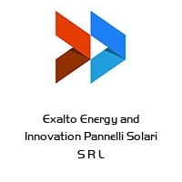 Exalto Energy and Innovation Pannelli Solari S R L