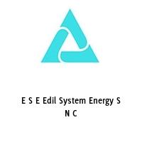 E S E Edil System Energy S N C