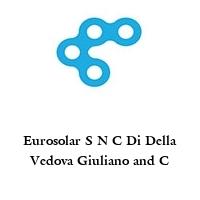 Eurosolar S N C Di Della Vedova Giuliano and C