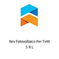 Rev Fotovoltaico Per Tetti S R L