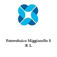 Fotovoltaico Miggianello S R L