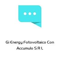 Gi Energy Fotovoltaico Con Accumulo S R L