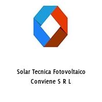 Solar Tecnica Fotovoltaico Conviene S R L