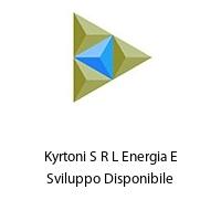 Kyrtoni S R L Energia E Sviluppo Disponibile